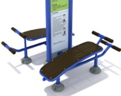 Adult Playgrounds and Exercise Equipment