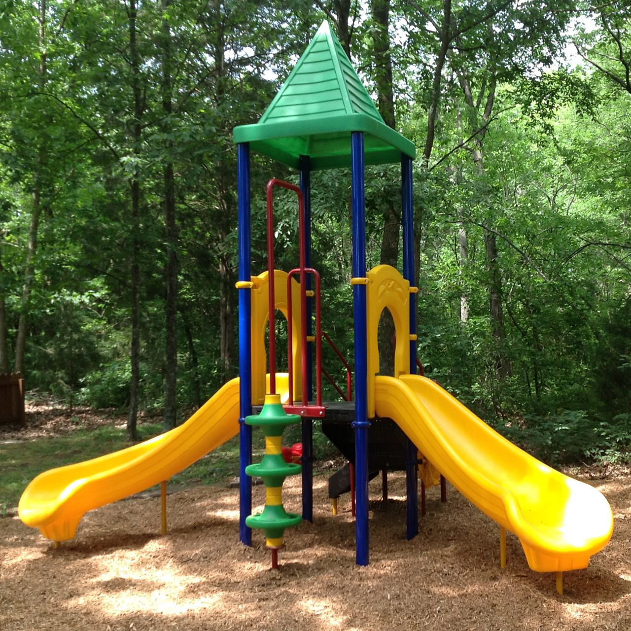 Outdoor Play Equipment: Banana Split Playground System By Playground Equipment Dot