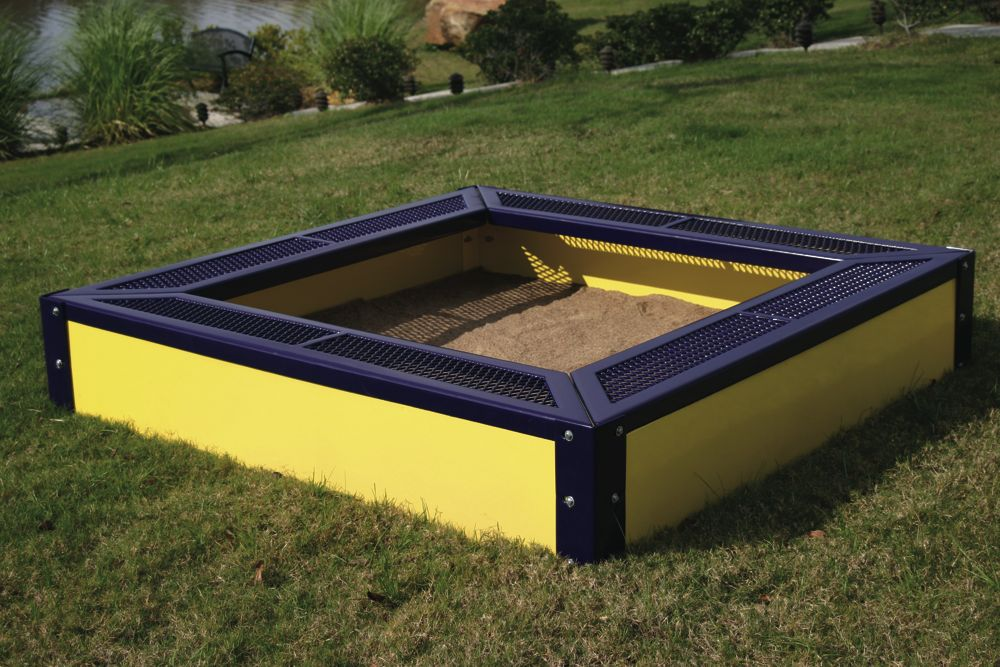 SANDBOXSQ, Expanded Metal Square Sandbox from Webcoat ...